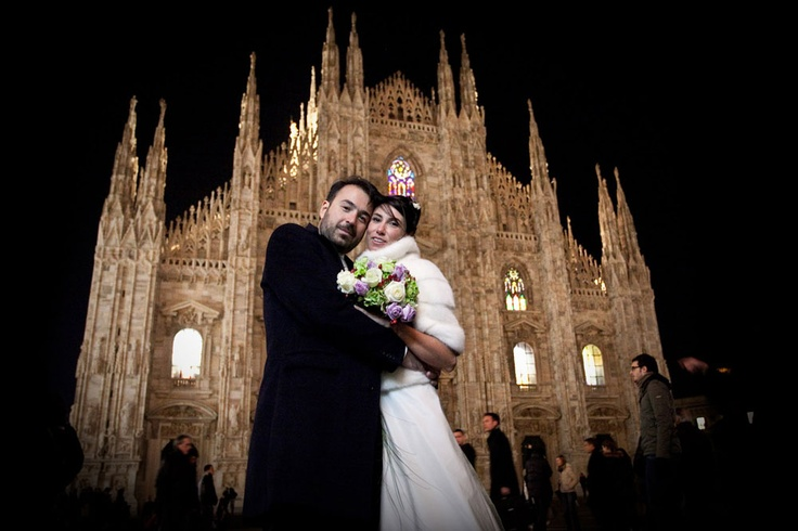Getting married in Milan
