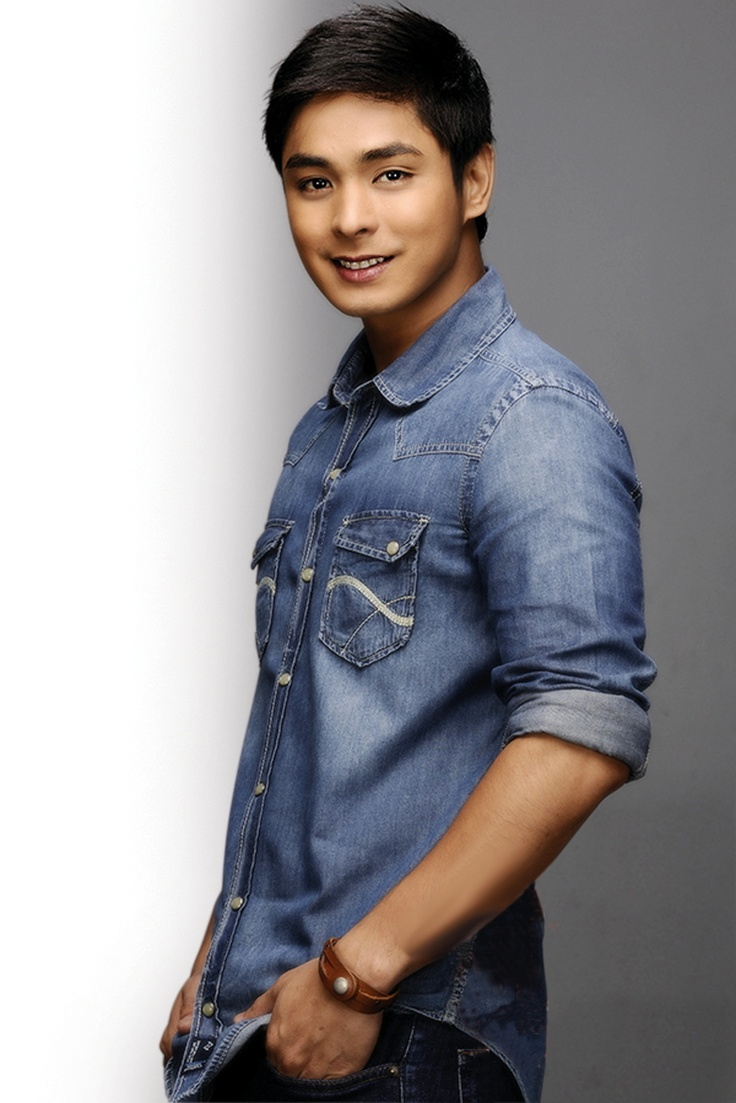 Coco Martin.  So overly photoshopped but he's still adorable :)