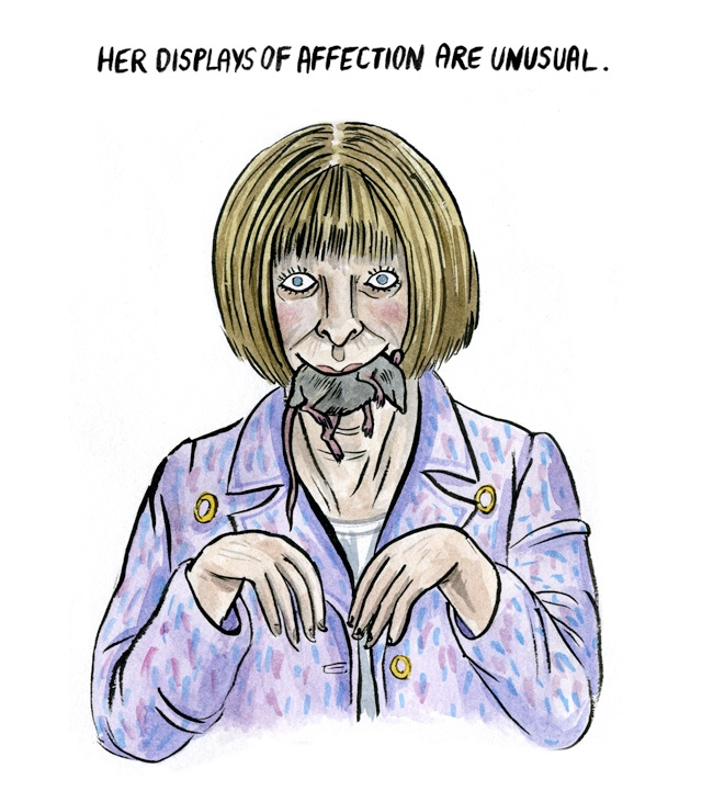 Lisa Hanawalt: Rumors I've Heard About Anna Wintour.