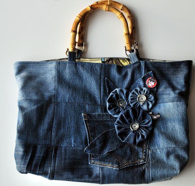 133 besten jeanstaschen bilder auf pinterest taschen n hen brieftaschen und jeans tasche. Black Bedroom Furniture Sets. Home Design Ideas