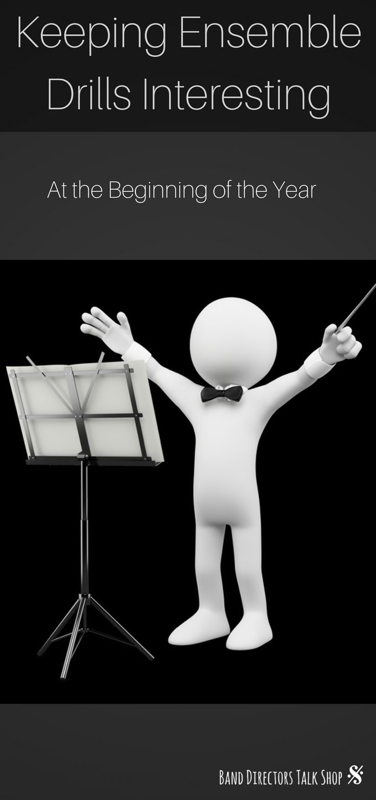 Beginning of the year band director ensemble and rehearsal techniques to implement with your band program. More band rehearsal ideas at Band Directors Talk Shop!
