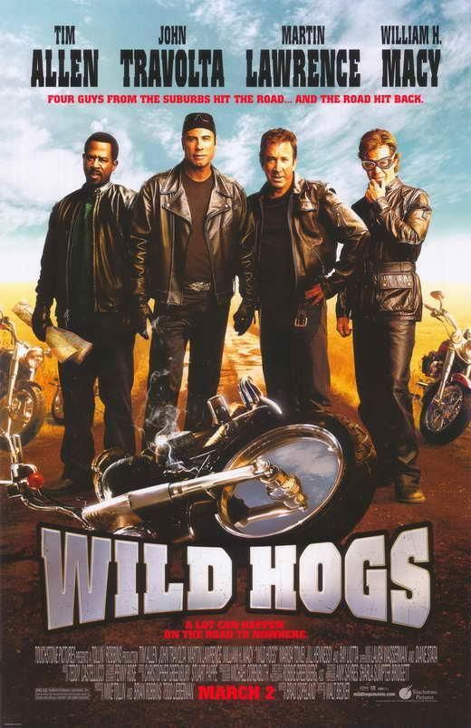 Wild Hogs Movie Poster 11 X 17 John Travolta Tim Allen A Licensed Streaming Movies Funny Movies Comedy Movies