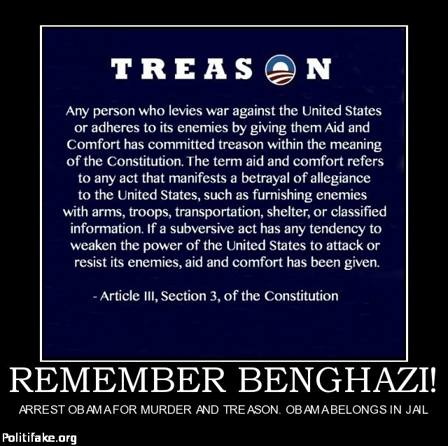 Political Coup Definition: REMEMBER BENGHAZI! ARREST OBAMA FOR MURDER AND TREASON