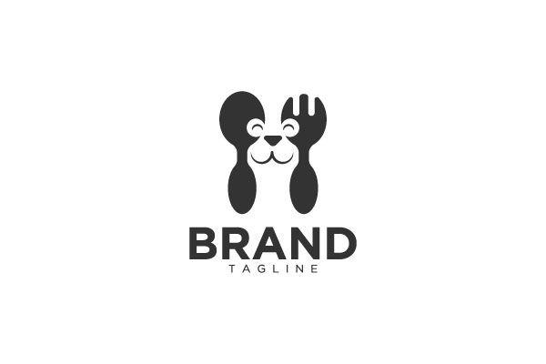 Pet Food Logo In 2020 Food Animals Dog Logo Pets