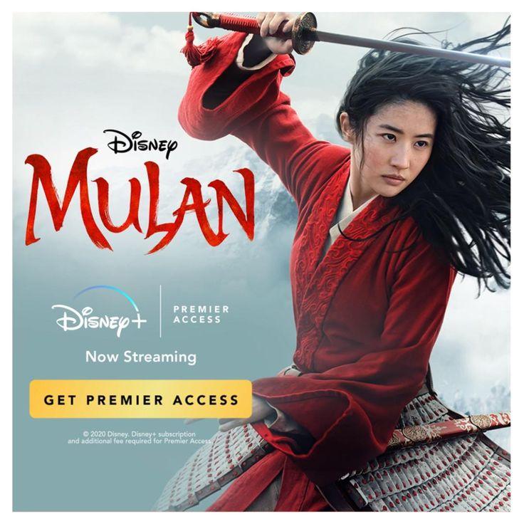 Mulan | Now Streaming on Disney+ Video in 2020 | Mulan ...