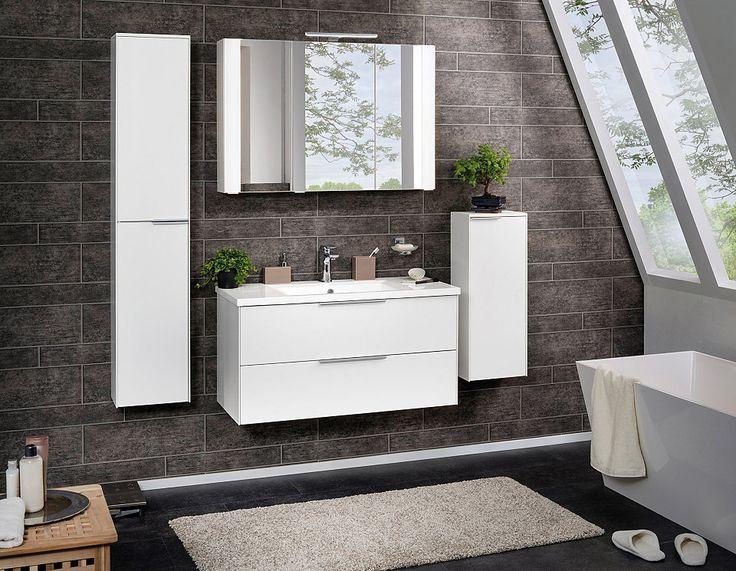 Die besten 25+ Spiegelschrank 100 cm Ideen auf Pinterest - spiegelschrank badezimmer günstig