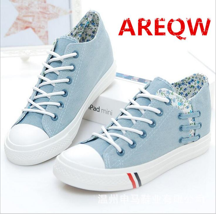 J# New Canvas Womens Athletic Sneakers Lace up Flat Preppy Casual Shoes Leisure