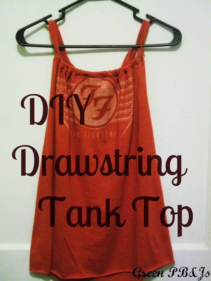 A DIY Tank Top or Little Girl's Dress