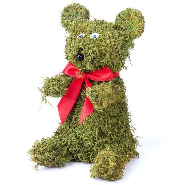 Niedlicher Moosbär Von Pflanzen Kölle. Die Vielseitig Zu Dekorierende  Bärenfigur Aus Echtem Moos überzeugt Home Design Ideas