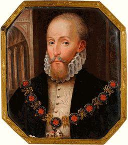 Henry Carey, Lord Hunsdon, son of Mary Boleyn, nephew of Anne Boleyn, possible son of Henry VIII