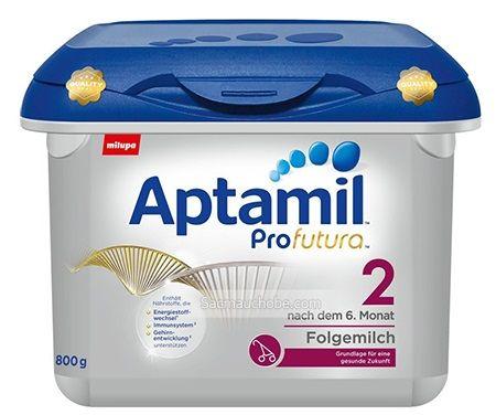Sữa Aptamil Profutura 2 hộp 800g CHÍNH HÃNG ĐỨC, cho bé 6-12 tháng tuổi. GIÚP PHÁT TRIỂN TRÍ NÃO, HỖ TRỢ MIỄN DỊCH. Sữa ngon, dễ hấp thu. GIÁ TỐT tại Colorful Shop.