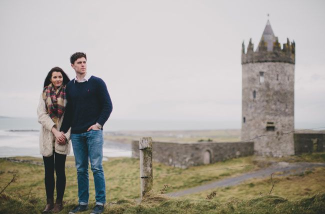 Ireland love session shot by Cottonwood Studios