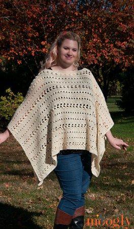 Perfect Fall Poncho - Free Crochet Pattern - PatternConnection