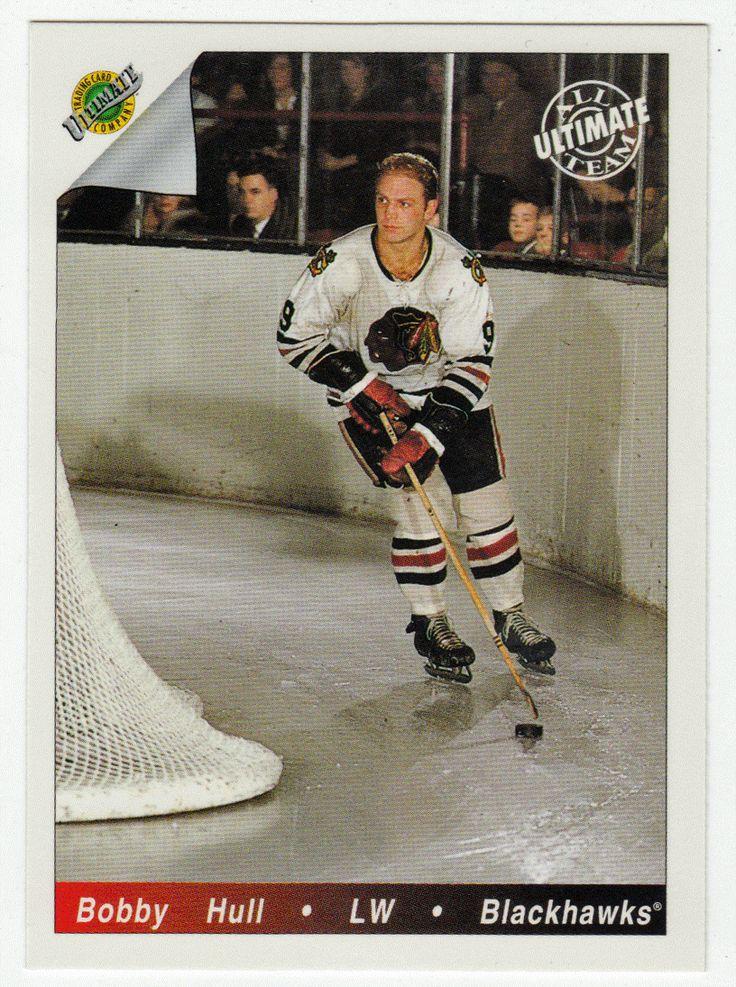 Bobby Hull # 82 - 1991-92 Upper Deck Ultimate Original Six Hockey