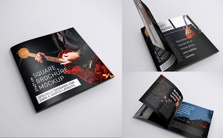 Brochure 21 x 21 cm