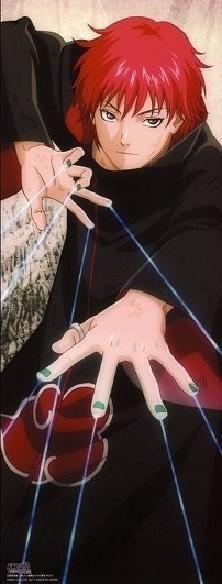 Sasori,Akatsuki - Naruto Shippuden
