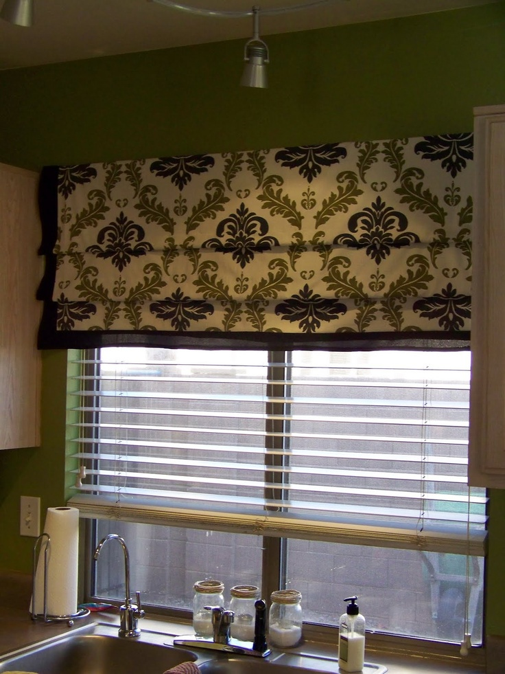 Kitchen shades ideas amusing best 25 kitchen window for Best window treatments for kitchen