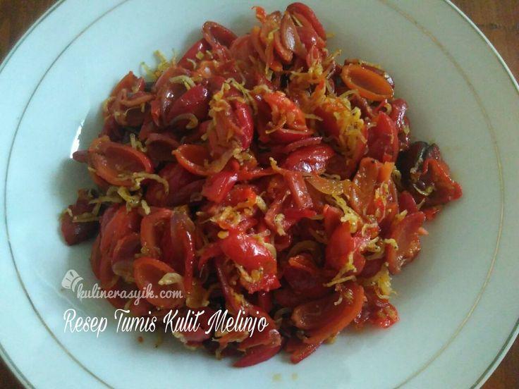 Selain daun dan buahnya, kulit melinjo juga bisa jadi hidangan enak, menarik dan sehat. Yuk diintip resep Tumis Kulit Melinjo untuk ide masakan di rumah.