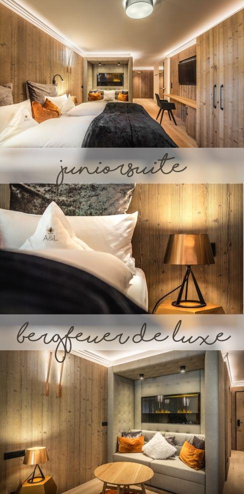 #neu #juniorsuite #bergfeuer #alpenschloessl_linderhof #wellnessresort #beautyful #rooms & #suites #luxuryliving