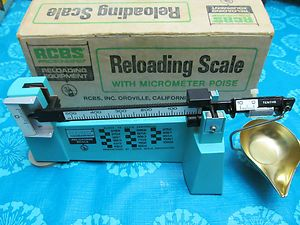 RCBS PERCISION RELOADING SCALE MODEL # 09070