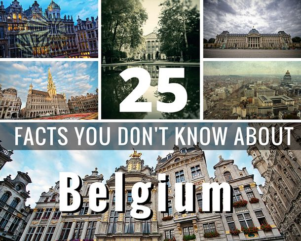 Facts, information and trivia that you probably didn't know about the country of Belgium.