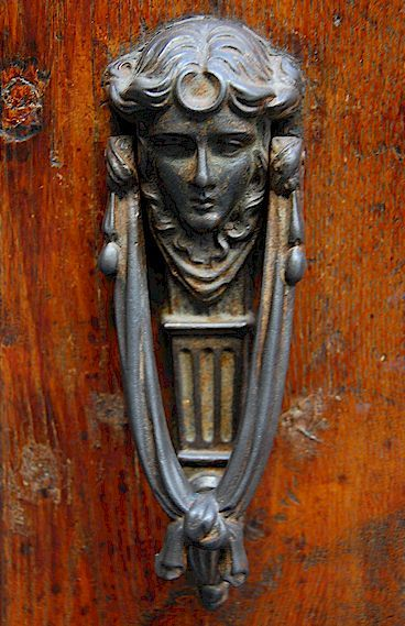 Tuscany door knocker