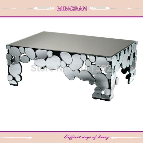 Cheap  Moderno a specchio tavolino mobili a specchio  , Compro Qualità Tavoli di vetro direttamente da fornitori della Cina:      Riflette la bellezza della vostra casa, decori il vostro spazio con questo unico e ornato veneziano regina specchio