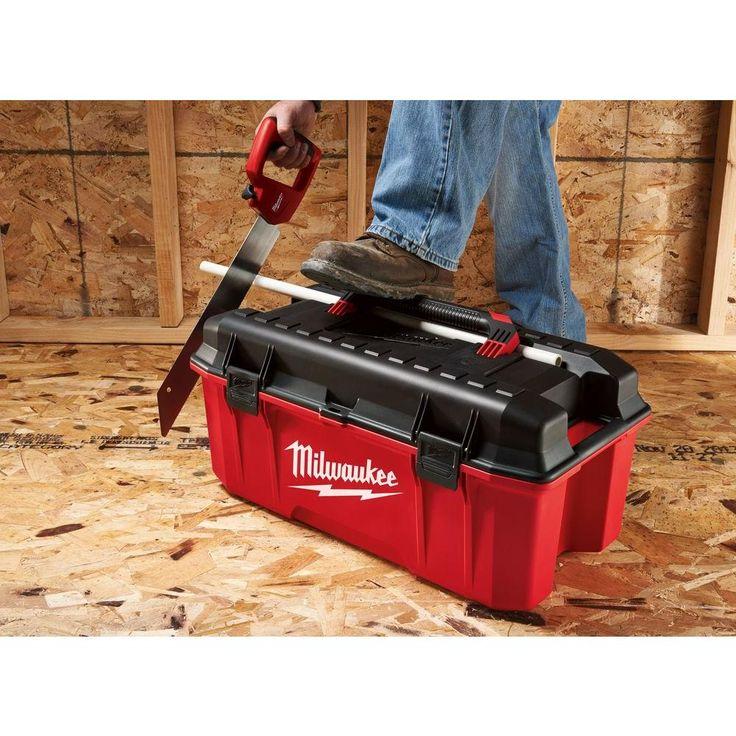 Milwaukee 26 in jobsite work tool boxmtb2600 the home