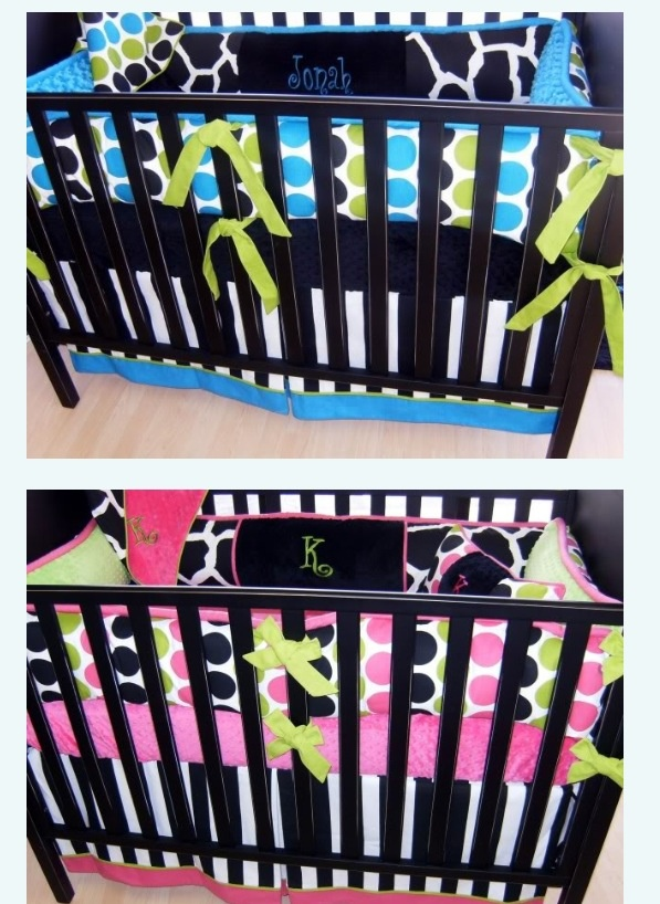 Boy/girl twin nursery