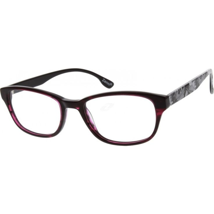 Women's classic full-rim acetate frames in Wayfarer style. The temple arms feature a floral pattern design. Please note ...Price - $29.95-ZhmFWPIe