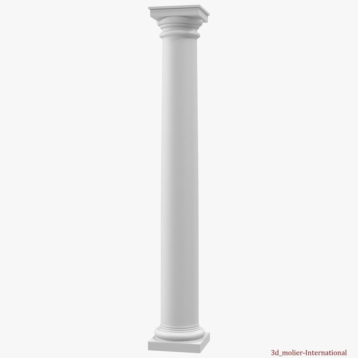 Tuscan order Column 3d model http://www.turbosquid.com/3d-models/tuscan-order-column-3d-c4d/921792?referral=3d_molier-International
