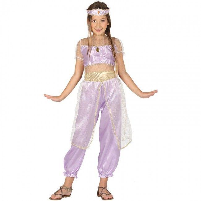 Disfraz Princesa Árabe Jasmine niña #disfraces #carnaval #novedades2017