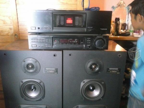 amplificador y preamplificador kenwood