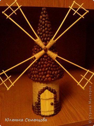 Поделка изделие 23 февраля 8 марта День рождения Моделирование конструирование кофейная мельница Клей Кофе