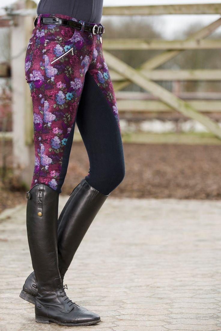 HKM Lauria Garrelli Paris Print Breeches.. stand out this summer! #LofthouseEquestrian