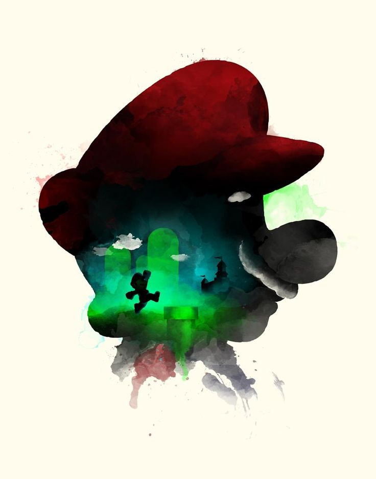Mario - Created by Bruce Yan                                                                                                                                                     More