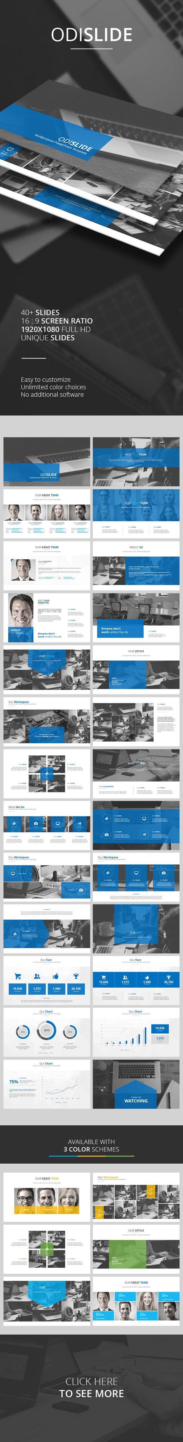 Odislide PowerPoint Template (PowerPoint Templates)