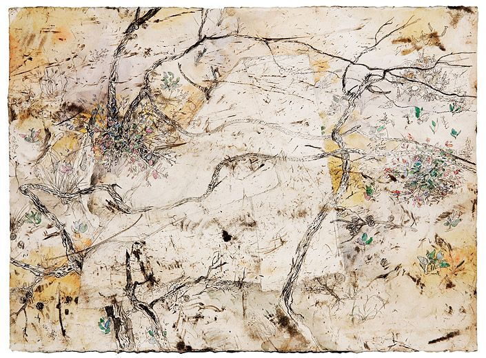john wolseley 7. Ventifact held by Burnt Branches, Sunset Track no 1