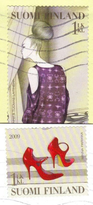 2009 Finlandia-Moda Fashion-Vestido y calzado