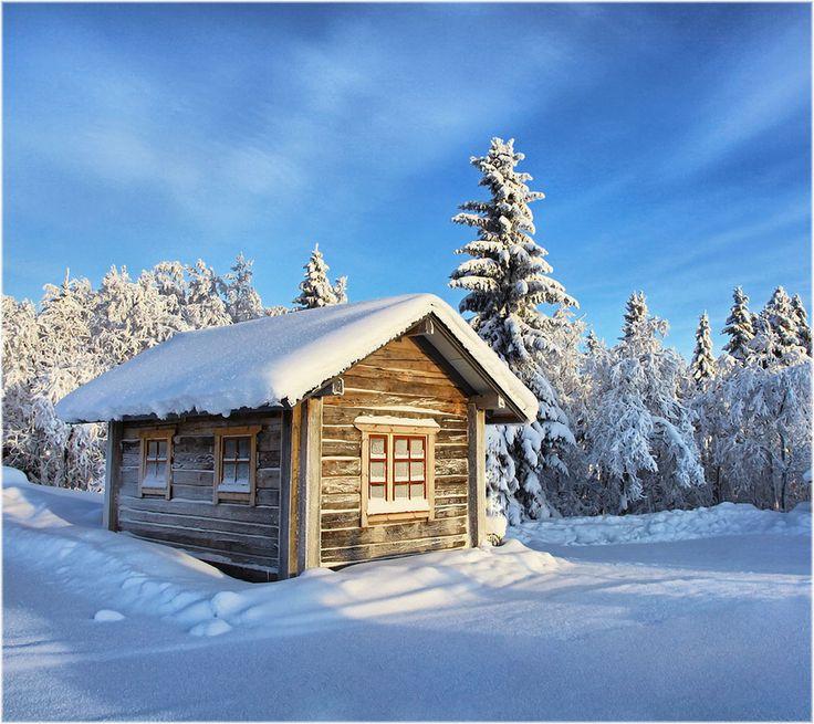 Finnish winter ... by Valtteri Mulkahainen, via 500px