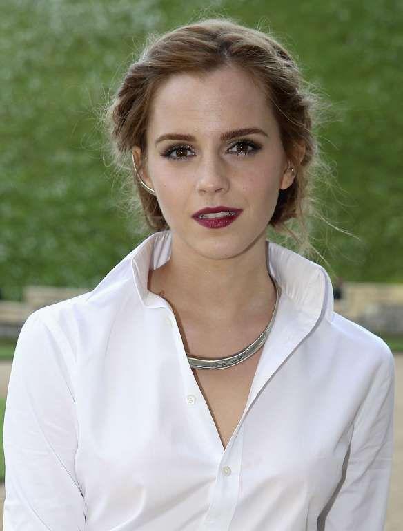 Emma Watson est née à Paris et y a vécu jusqu'à l'âge de cinq ans. Il lui reste encore des bribes de... - ZUMAPRESS.com/Keystone Press/BIG