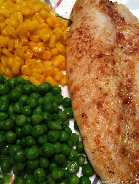 Parmesan White Swai Fish - Swai Recipe.... This is a keeper!  So quick and delicious.  I used olive oil instead of butter.