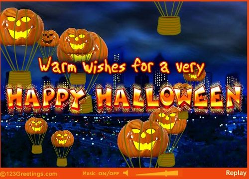 Happy Halloween Quotes, Wishes And Halloween Greetings