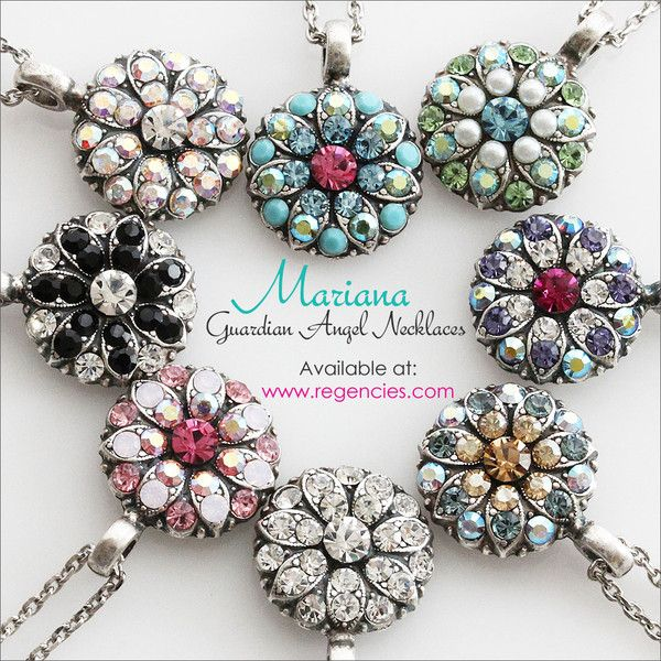 Mariana Guardian Angel Necklaces Available at www.regencies.com