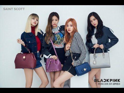 "Blackpink Looks so Gorgeous and Beauties as Model ""Saint Scott"" Handbags"