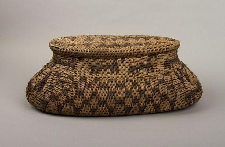 Basket; Lozi; BISRM 294.1 - Bishops Stortford Museum on NZMuseums