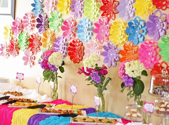 Bright Blooms Baby Shower