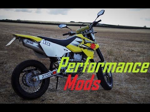 SUZUKI DRZ400 PERFORMANCE POWER UPGRADES & MODS - YouTube