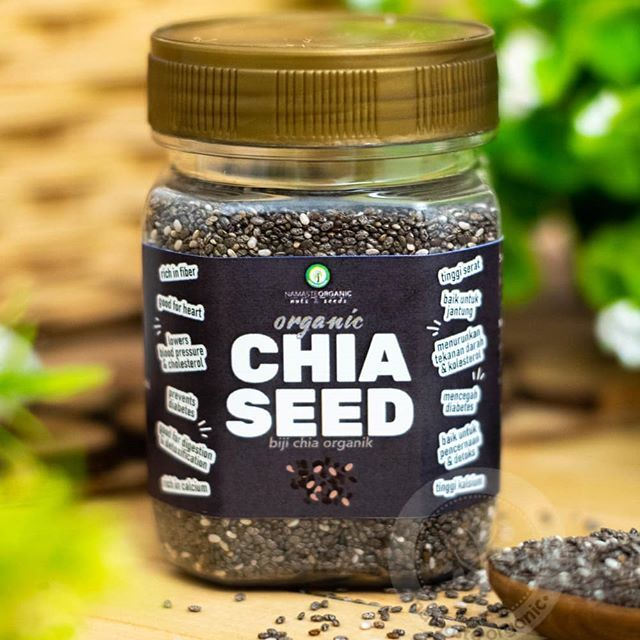 Chia Seed Adalah Biji Dari Tanaman Yang Tumbuh Di Padang Pasir Bernama Salvia Hispanica Yang Biasanya Dipakai Sebaga Workout Food Chia Pudding Powerade Bottle