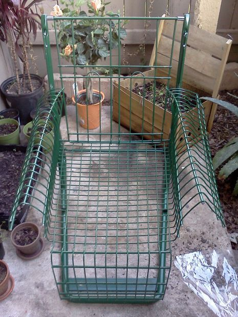 54 best upcycled images on pinterest shopping carts diy for Upcycled garden projects from junk